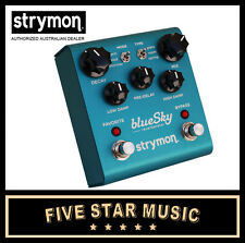 STRYMON BLUESKY REVERB BLUE SKY GUITAR EFFECTS PEDAL REVERBERATOR  NEW