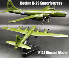 WWII Boeing B-29 Superfortress heavy bomber 1/144 plane diecast model