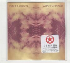 (HD623) Emilie & Ogden, What Happened - 2015 DJ CD