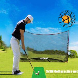 3x3M Schwarz Golf Übungsnetz Golfnetz Trainingsnetz Target Net Training Feld