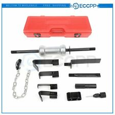 13pc Dent Puller With10lbs Slide Hammer Auto Body Truck Repair Tool Kit Heavy Duty