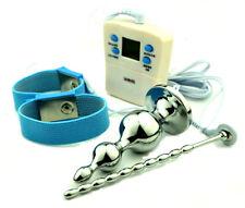 NEW Urethral Sound Penis Plug Electronic Shock E-Stim Estim Stretcher Dilator