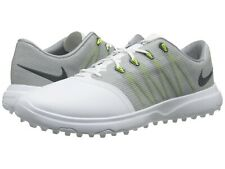 Nike Lunar Empress 2 Women's Size 10 Golf Shoes White/grey 819041-100 Wide