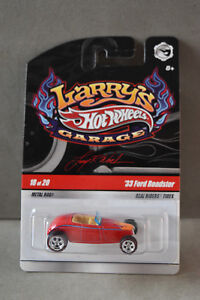 Hot Wheels Larry's Garage, 33' Ford Roadster, 18 of 20, New Old Stock, In Packag