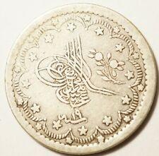 TURQUIE : 5 KURUSH ARGENT 1255/19