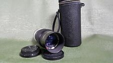 Vintage Petri f/3.5 135mm EE Auto Camera Lens W/ OEM Case and 2 caps.Excellent!