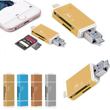Memory Card Reader TF SD Card Adapter For Apple iPhone 6 6s plus/iPad iPod touch