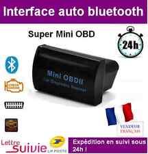 INTERFACE SUPER MINI BLUETOOTH COMPATIBLE ELM 327 OBD OBD2 DIAGNOSTIQUE SCANNER