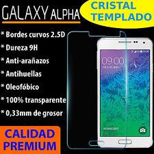 CRISTAL TEMPLADO PROTECTOR DE PANTALLA 0.3MM PARA SAMSUNG GALAXY ALPHA 9H 2.5D