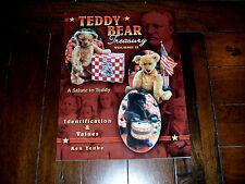 Teddy Bear Treasury Vol II Ken Yenke SIGNED Collect Identification Values Prices
