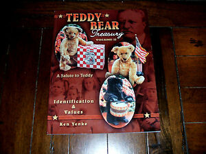 Teddy Bear Treasury Vol II Ken Yenke SIGNED Collect Identification Values Prices