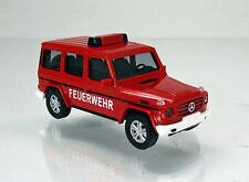 Busch 51459 Mercedes Benz G Klasse lang W463 Baujahr 2008 Feuerwehr ELW 1 87
