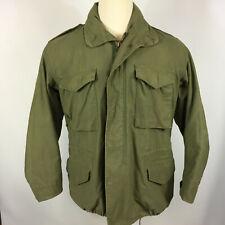 Vintage USA 60s Distressed M65 Military Army Coat Jacket Vietnam War WWII Korean