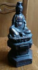 China  bronze with gold  statue Guanyin  铜 像