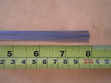 50 PCS. STAINLESS STEEL STRAIGHT LURE SHAFT WIRE FORM 0.028 X 8 INCH LONG