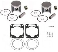 Arctic Cat ZR 580 Top End Rebuild Kit SPI Pistons Bearings Gaskets 75.40mm Bore