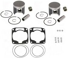 ARCTIC CAT ZR580 ZR 580 SPI PISTONS,BEARINGS,TOP END GASKET KIT 75.40mm STD BORE