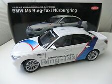 Bmw m5 e60 1:18 anillo taxi Kyosho ring-taxi nuevo + embalaje original