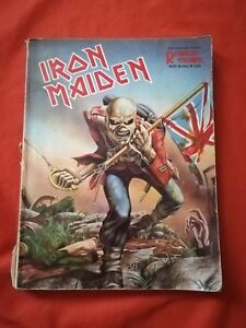 IRON MAIDEN Hal Leonard Guitar Recorded Versions with Notes & Tabs - Buch rar