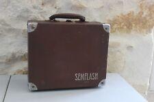 Vintage - Antigua maleta Bolsa funda para la Cámara Foto SEMFLASH - Cámara