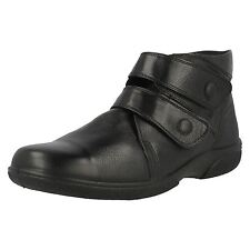 Ladies DB Wide Fitting Ankle Boots - Bradwell (Shop Soiled)