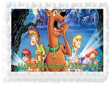 Scooby Doo and Friends Personalized Birthday Edible Cake Image Decoration Topper