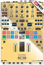 Pioneer DJM-S9 Skin mirror gold