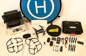 DJI Mavic Air Camera Drone - Onyx Black, with many extras