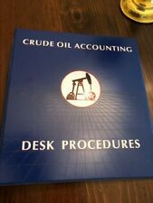 Texaco - Crude Oil Accounting Binder - from the 1960-80's time period
