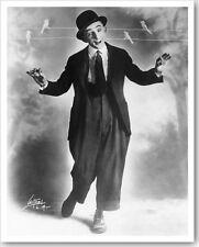 Silent Movie Actor Comedian Larry Semon 8x10 Silver Halide Witzel Photo