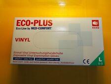 Einmalhandschuhe Einweghandschuh Vinyl Handschuhe Einweg 4000 Stück Größe  L 8-9