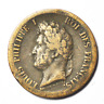 1844 A French Colonies 5 Centimes KM# 12 Low Mintage