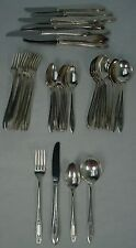 Oneida silver DEBUTANTE Grandeur Princess silverplate 48-pc Grille SET for 12