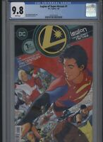 Legion of Super-Heroes #1 CGC 9.8 - Ryan Sook MAIN COVER - 2020