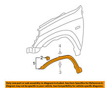 HONDA OEM 02-04 CR-V Front Fender-Wheel Well Flare Arch Molding Left 74165S9A000