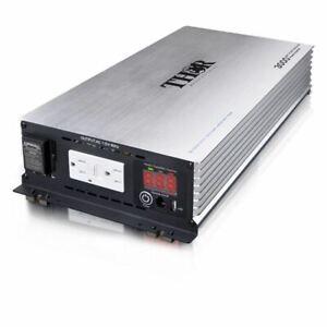 THOR 5000 Watt Pure SINE Wave Inverter 12V with USB 2.1