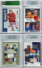 JOHNNY BOWER GAME USED STICK & JERSEY 03-04 BAP ITG ULTIMATE MEM MAPLE LEAFS SP