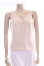 Nueva Cream Top Size 8 Ladies Ivory Vest