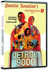 Detroit 9000 (DVD) Alex Rocco, Hari Rhodes, Vonetta McGee NEW