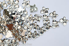 Wedding table decorations Silver Butterfly Diamantes