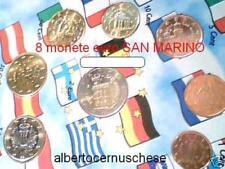 2002 SAN MARINO 8 monete 3,88 EURO Saint Marin 8 pièces Сан - Марино