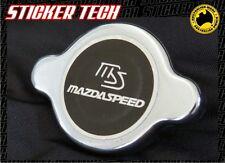 MAZDA SPEED RADIATOR CAP BLACK STICKER DECAL SUITS SP23 3 6 RX3 RX2 RX7 RX8 13B