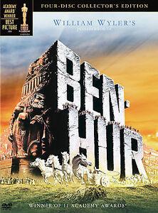 Ben-Hur (DVD, 2005, 4-Disc Set, Collectors Edition)