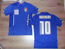 FW14 PUMA XXL HOME ITALIA 10 OSVALDO MAGLIA MAGLIETTA MONDIALI SHIRT JERSEY
