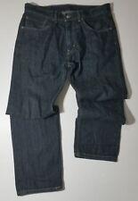 "LEVI'S 505 straight Regular Fit Jeans TAG SZ 34X30 (35""waist 29""inseam measured"