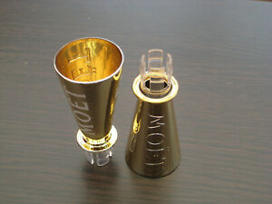 2 x Gold Sippers For Mini Bottle Of Moet & Chandon Champagne Fun For Lockdown