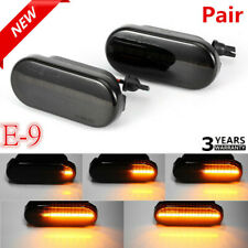 For VW T5 Dynamic Flowing LED Side Marker signal Light Indicators Repeaters Pair