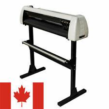 "CA Stock 28"" 720mm Paper Feed Vinyl Cutter Plotter Machine w/ Stand+ Accessories"