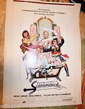 Original Vintage Marquee Movie Poster Scaramouche 1976 comedy Ursula Andress
