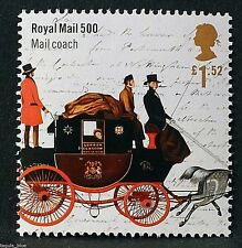 """""""Royal Mail Coach"""" illustrated on 2016 Stamp - Unmounted Mint"""